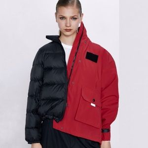 Zara Jackets & Coats - Zara 2 IN 1 DOWN JACKET